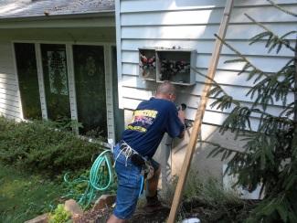 Electrician performing Repairs