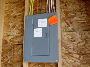 Image of a Delaware service panel upgrade passed inspection